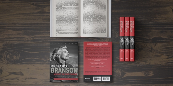 "Richard Branson ""Kroki wnieznane"""